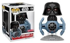 Pop! Deluxe: Star Wars - Darth Vader w/ Tie Fighter