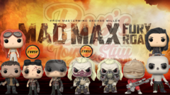 PRE-ORDER POP Movies: Mad Max Fury Road- Bundle w/ chases