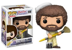 PRE-ORDER POP TV: Bob Ross w/paintbrush
