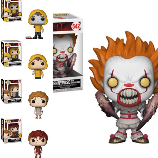 PRE-ORDER: Pop! Movies: IT Bundle w/2 Chases