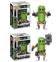 PRE-ORDER POP Animation: Rick & Morty - Pickle Rick set