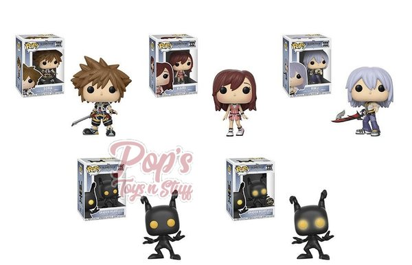 PRE-ORDER Pop! Disney: Kingdom Hearts S2 bundle w/chase