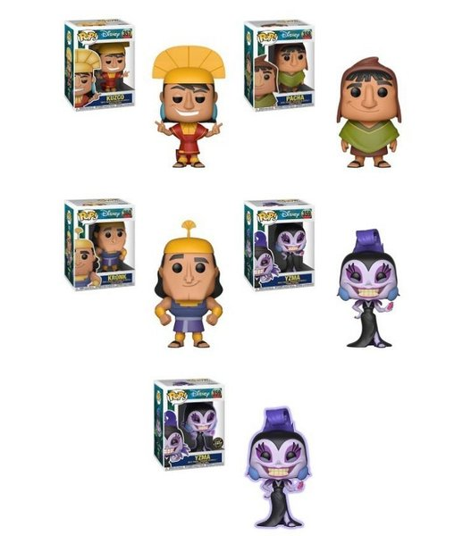 PRE-ORDER Pop! Disney: The Emperor's New Groove - Bundle w/Chase