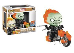 POP RIDES: MARVEL - GHOST RIDER W/BIKE PX GitD