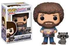 PRE-ORDER Pop! TV: Bob Ross and Raccoon