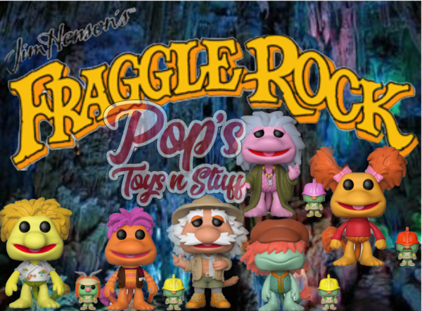 PRE-ORDER Pop! Television: Fraggle Rock bundle w/Specialty Series
