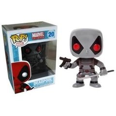 POP Marvel: Deadpool - Deadpool Gray Damaged
