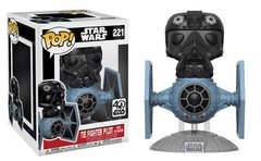 Pop! Deluxe: Star Wars - Tie Fighter w/ Tie Pilot (Read description for vaulted Tie Fighter Pilot details)