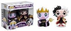 POP Disney: Ursula & Cruella De Vil Villain 2 pack