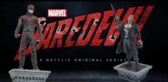 Diamond Select Marvel Netflix Daredevil & Punisher Statues (including Daredevil & Punisher Pops)