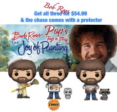 PRE-ORDER Pop! TV: Bob Ross S2 Bundle w/chase