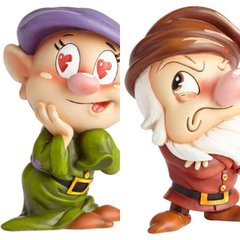 PRE-ORDER Disney The World of Miss Mindy Snow White Dopey & Grumpy Statue