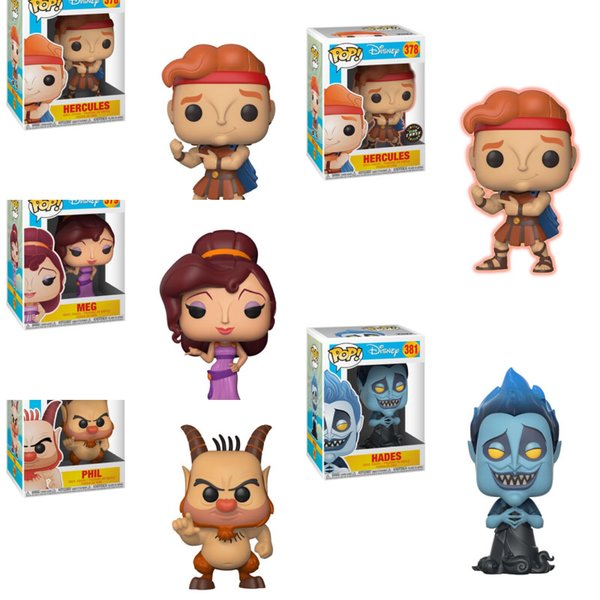 PRE-ORDER: Pop! Disney: Hercules Bundle w/ Chase