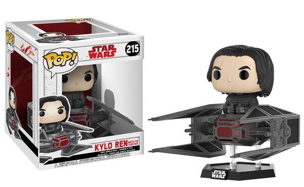 PRE-ORDER Pop! Deluxe: Star Wars: The Last Jedi - Kylo in TIE Fighter
