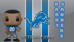 PRE-ORDER POP Sports: NFL Legends - Barry Sanders