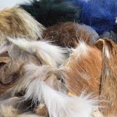 Mixed Trim Fur (1/4 Pound Bag)