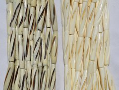 Carved Bone Beads (1.5-inch)