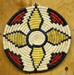 Hand Woven Hopi Coil Basket
