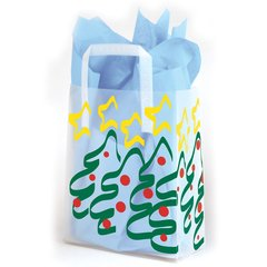 Christmas Frosted Bags
