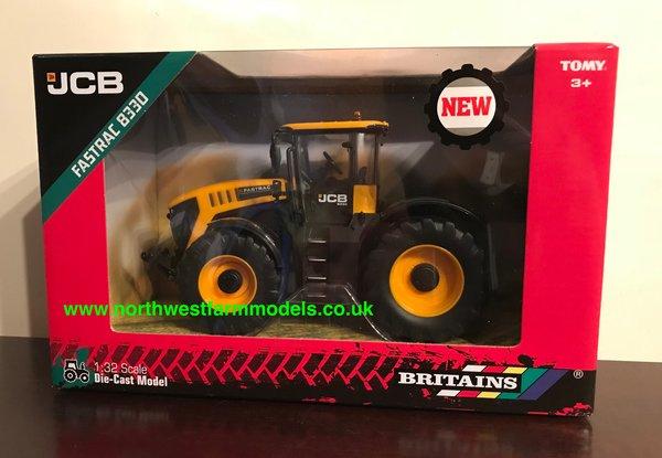 BRITAINS FARM 1:32 SCALE 43206 JCB 8330 FASTRAC TRACTOR