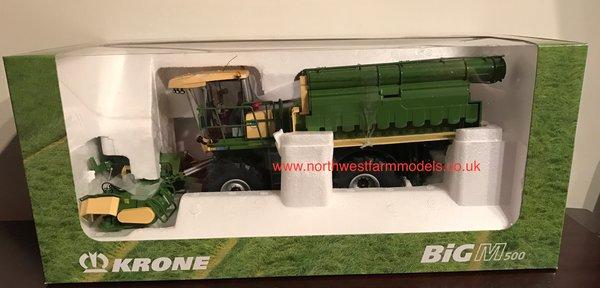 ROS 1/32 SCALE KRONE BiG M 500 MOWER (DEALER BOX)