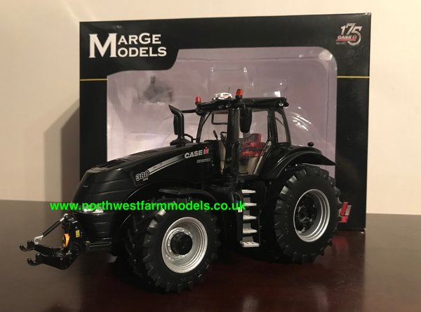 "MARGE MODELS 1:32 SCALE CASE IH MAGNUM 380 CVX ""BLACK"" LIMITED EDITION TRACTOR OF THE YEAR 2017"