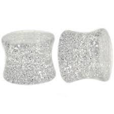 UV Acrylic Metallic Glitter Saddle Plug 4g