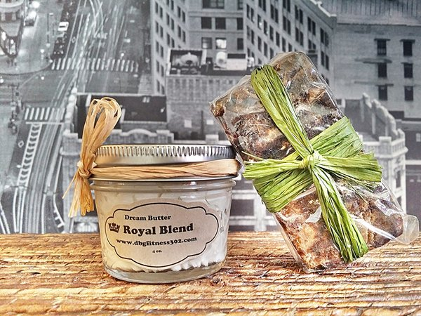 Dream Body Butter and Royal Earth Gold Soap Package