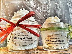 Specials (1) Dream Body Butter Jewel 4 oz and (1) Dream Body Butter Jewel 8 oz