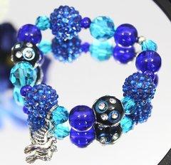 Blue Dove Stretch Bracelet