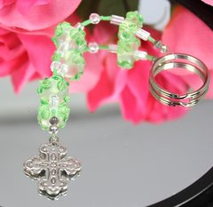 Christian Cross Key Chain