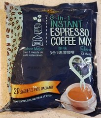 2 Bags of Ideal Tastes 3 in 1 Instant Expresso Coffee Mix
