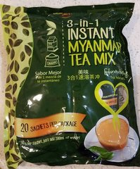 2 bags of Ideal Tastes 3 in 1 Instant Tea Mix