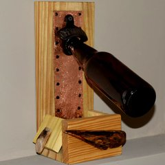 SOLD Bottle Opener #4 with copper front