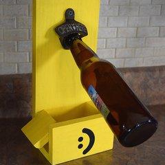 Positive Yellow Bottle Opener