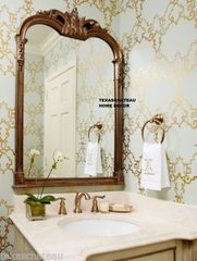 LARGE ORNATE FRENCH COUNTRY CHIC ARCHED WALL MIRROR ARCH TUSCAN DECOR BATHROOM ARCH