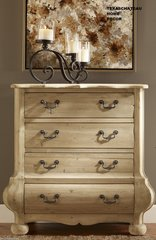 RUSTIC FRENCH COUNTRY FARMHOUSE ~ DISTRESSED PINE WOOD ~ CABINET CHEST FURNITURE