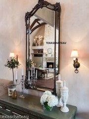 LARGE TUSCAN FRENCH ARCHED WALL MIRROR ARCH SPANISH COLONIAL REVIVAL HOME DECOR