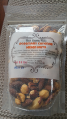 Rosemary and Cayenne Mixed Nuts 8 oz