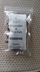 Chocolate & Sea Salt Cashews 2 oz