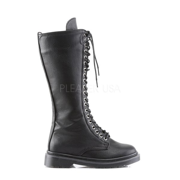Demonia Rival-400 Black Vegan Leather