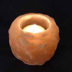 Himalayan Pink Salt tea light holder.