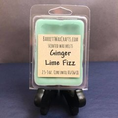 Ginger Lime Fizz scented wax melt