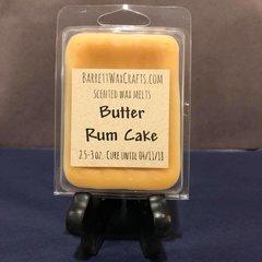 Butter Rum Cake scented wax melt.
