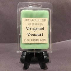 Bergamot Bouquet scented wax melt.