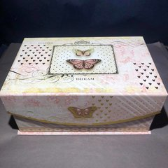 Butterfly Floral Sampler Box with Whipped Soap