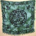 "Greenman Altar Cloth 36""x 36"""