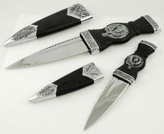 Two Piece Scottish Sgian Athame Set