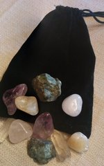Anxiety Relieving Crystal Empowerment Pouch