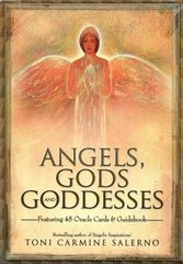 Angels, Gods, and Goddesses Oracle (Deck and Book) set by Toni Carmine Salerno